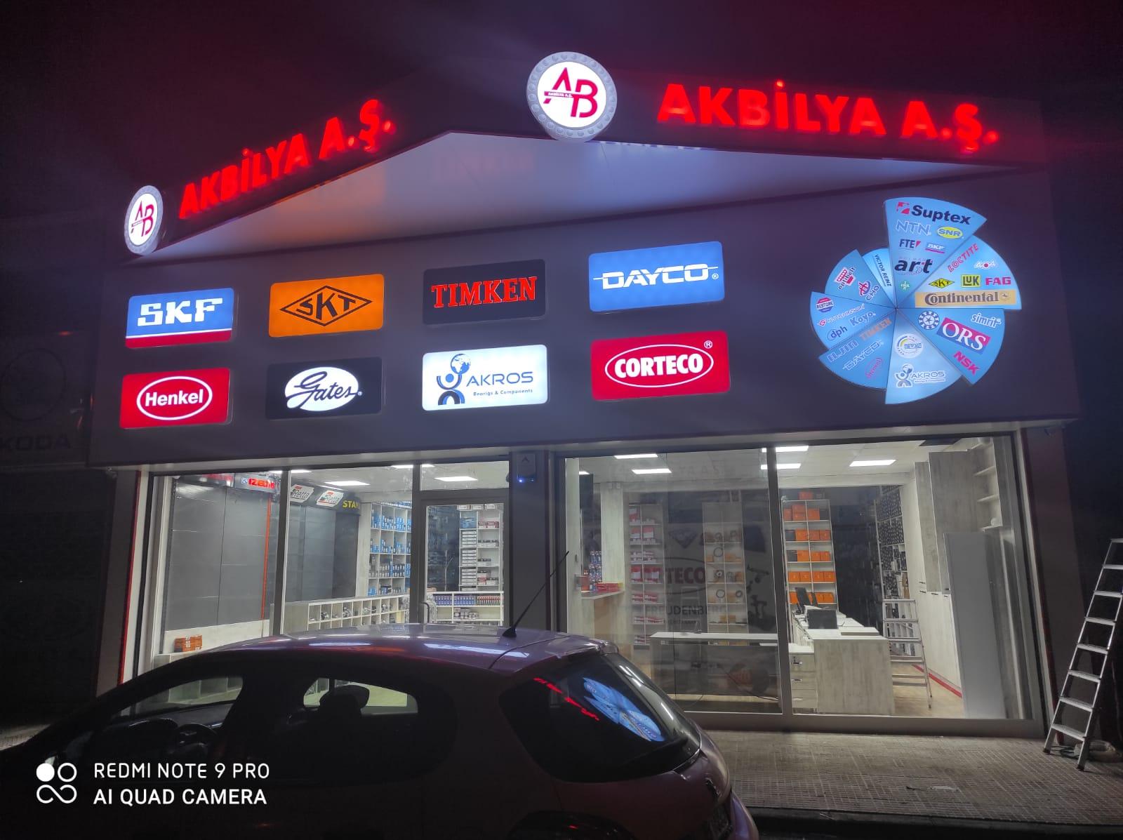 Akbilya Bursa Şubemiz Hizmetinizde.